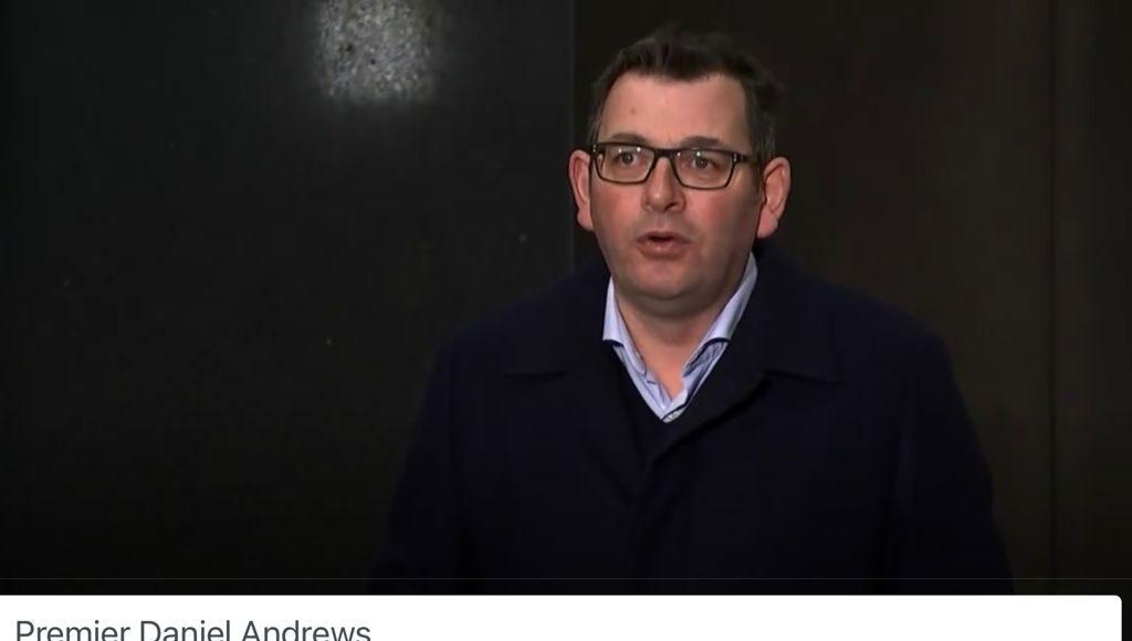 Victoria's Premier Daniel Andrews; Picture Source: The Australia Today